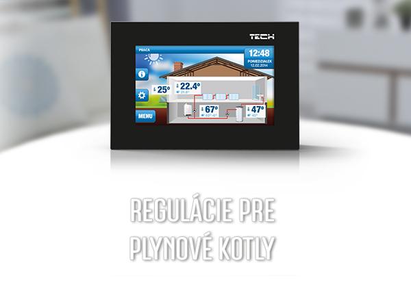 Pokojové termostaty OpenTherm pro plynové kotle - TECH Sterowniki